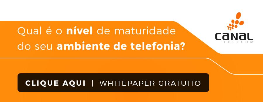 Maturidade Ambiente Telefonia - Imagem Inline - CTA